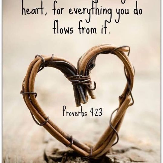 heart proverb